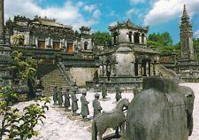 Mausoleum of Khai Dinh Vietnam Postcard unused VGC