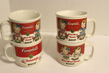 4  Vintage Campbell's Soup Mugs  by Westwood