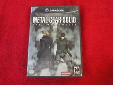 Nintendo Gamecube Tactical Espionage Action Metal Gear Solid Twin Snakes game