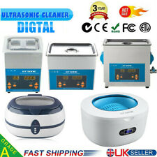 More details for digital ultrasonic cleaner ultra sonic bath jewellery cleaning tank timer heater