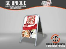 Large A Board Pavement Sign 'Chinese Take Away' Outdoor Advertising Display