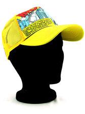 New Era The Mighty Thor Adjustable Hat Marvel Comics Heroes Yellow Orange NWT