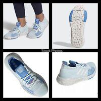 NEW Adidas PulseBOOST HD W Blue Silver Gray Women's 9.5 Shoes Sneakers EF1358