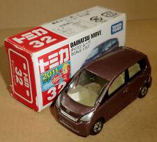 Maquette de voiture TAKARA TOMY Daihatsu Move 1:57 neuf dans sa boîte GIUGIARO marron metallic auto 2011