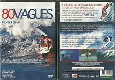 DVD - 80 VAGUES FILMEES EN HD : SURF VAGUE SPOT/ NEUF EMBALLE - NEW & SEALED