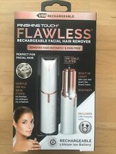 JML Finishing Touch Flawless USB Rechargeable Facial Hair Remover