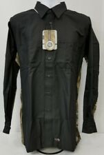 Wrangler WORKWEAR REALTREE black/camo canvas work shirt.  men's size XLT
