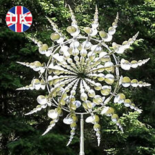 More details for unique and magical metal windmill-sculptures move with the wind 12in lawn decor