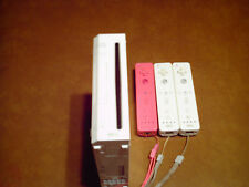 Nintendo Wii System w/ 3 Remote Controllers - powers up but - NOT working -