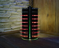 VU-Meter Graphic Equalizer LED Party DJ Disco Lights Red Laser Cut (VIDEO!)