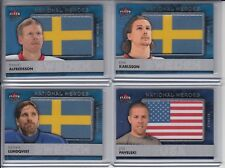 14/15 Fleer Ultra Team Sweden Daniel Alfredsson National Heroes Patch #NH-DA