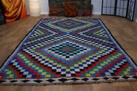 nr 61 Handgewebter VINTAGE Teppich KURDISTAN NOMADEN KILIM KELIM ca 310 x 170 cm