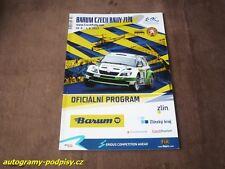 2013 RALLYE BARUM (Zlin) - official Programm, cca 146 Seiten/pages 20x30 cm