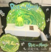 Rick and Morty Portal Gun Adult Swim Collectible Cosplay Prop Exclusive Toy NEW