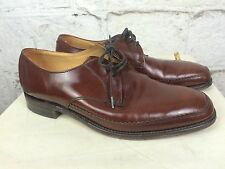 Men's Loake Shoe Makers Brown Leather Smart England Style Man UK 7.5 / 41 (1273)