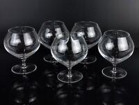 5x Rosenthal Studio Line Cognacgläser Kristall Cognacschwenker Glas transparent