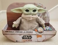 Star Wars MANDALORIAN THE CHILD BABY YODA Mattel Real Moves Plush RC Animatronic