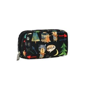 LeSportsac Classic Rectangular Cosmetic Make Up Bag in Hello Bears NWT