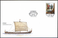 Finland Aland FDC 2000 Viking Hlovder The Tall Mint