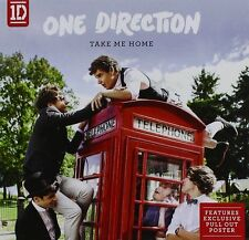 One Direction - Take Me Home (2012)  CD + Poster  NEW/SEALED  SPEEDYPOST