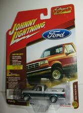 Johnny Lightning 1993 FORD F-150 XLT Pickup Truck Silver Hobby Exclusive 1/1800