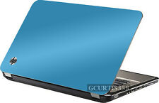 SKY BLUE Vinyl Lid Skin Cover Decal fits HP Pavilion G6 1000 Laptop