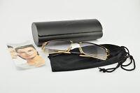 CAZAL Mod. 9005 Col. 302 Sonnenbrille Luxury Sunglasses Gold Schwarz + Case NOS