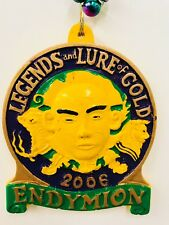 Mardi Gras Bead Necklace Large Emblem 2006 Krewe Of Endymion New Orleans 20""