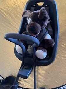 Thule Yepp Mini Child Bike Seat - black Front Mount slim fit adapter