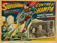 "Superman in Scotland Yard  Lobby Card Movie Poster Replica 11x14"" Photo Print"