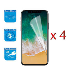 4 x Screen Cover Guard Shield Film Foil For iPhone X XS, iPhone 10 Protector