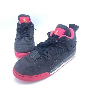 Nike Air Jordan 4 Retro 2015 Denim / Pink GS 487724-408 Youth Sz 7Y Basketball