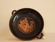 Achilles and Patroclus red-figured Kylix Hand Painted Greek Vase Museum Copy