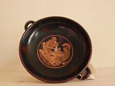 ACHILLE E PATROCLO ROSSO-pensò kylix dipinti a mano VASO GRECO Museo copia