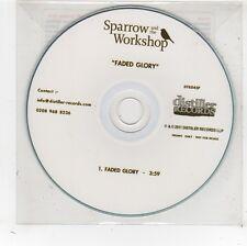 (FV793) Sparrow & The Workshop, Faded Glory - 2011 DJ CD