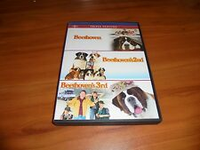 Beethoven/Beethoven's 2nd/Beethovens 3rd (DVD, 2012, 2-Disc Widescreen)