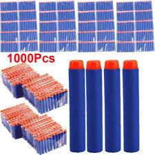 1000Pcs Lot Refill Soft Foam EVA Bullet Darts For Nerf Blasters Toy Gun 7.2cm