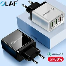 Olaf USB Charger quick charge 3.0 for iPhone X 8 7 iPad Fast Wall Charger for
