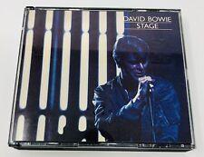 DAVID BOWIE - Stage - 2 CD SET RYKODISC RCD 10144/45 - LIKE NEW MINT GIFT