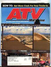 ATV Magazine 2007 Arctic Cat Thundercat EX w/ML 061317nonjhe