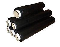 Strong Black Pallet Stretch Shrink Wrap Film 500mm x 6