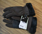 HEAD® DuPont™ ComforMax® Classic Touchscreen Women's Gloves-BROWN-LARGE-NWT