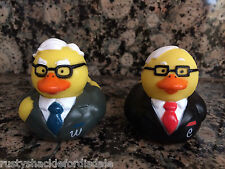 Berkshire Hathaway Warren Buffett & Charlie Munger Rubber Duckies - Rubber Ducks
