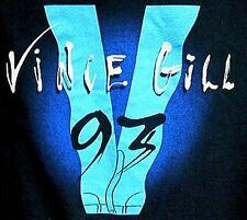 VINCE GILL BEAUTIFUL ORIGINAL 93 1993 CONCERT TOUR XL SHIRT.