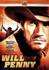 Will Penny - Charlton Heston, Joan Hackett 1968 (DVD, 2017) Not Rated SEALED