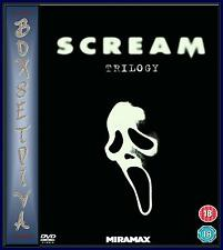 SCREAM - TRILOGY - SCREAM 1 2 & 3  **BRAND NEW DVD BOXSET * **