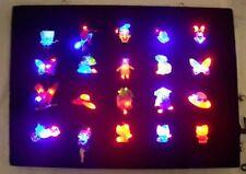 BULK Lot 200 Assort Body Flashing LED Blinky CLOSE OUT Party Favor Bag Filler