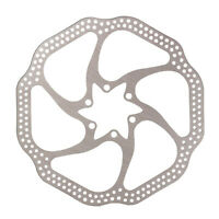 Bicycle Bike 6-bolt Brake Disc Rotor 160mm/180mm For Shimano Alivio/Deore