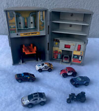 Vintage 1989 Galoob Micro Machines Motor Oil  Garage Lot Of 8 Pieces