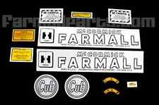 Mylar Decal Set For Farmall Cub With The Circle Cub Tractors.